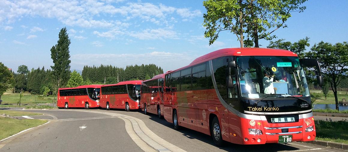 観光バス・貸切バス・東京・千葉県千葉市の武井観光トップ画像